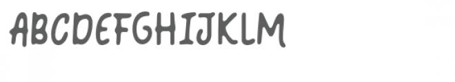 Coquin Blur Font UPPERCASE