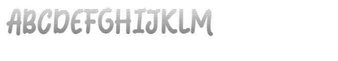 Coquin Gradient Font UPPERCASE