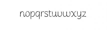 Consuelo Rough Font LOWERCASE