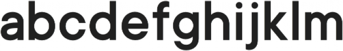 CP ONE Bold otf (700) Font LOWERCASE