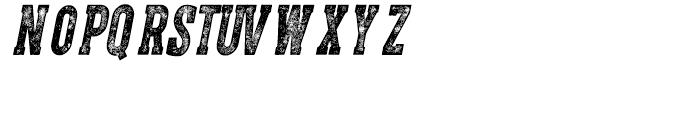 CPL Kirkwood Slab Italic Font LOWERCASE
