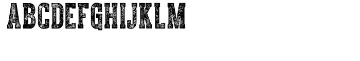 CPL Kirkwood Slab Font UPPERCASE