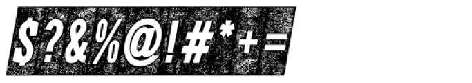 CPL Kirkwood Slab Knockout Italic Font OTHER CHARS