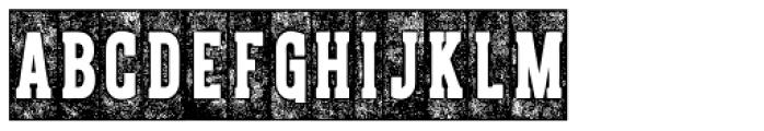 CPL Kirkwood Slab Knockout Font UPPERCASE