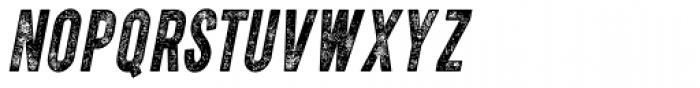 Cpl Kirkwood Italic Font UPPERCASE