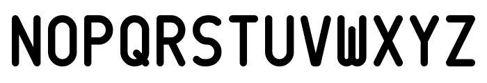CQ Mono Font UPPERCASE