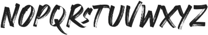 CRACKERS BRUSHER otf (400) Font UPPERCASE