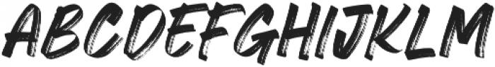 CRACKERS BRUSHER otf (400) Font LOWERCASE