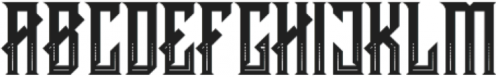 CRAWLER Decorative otf (400) Font UPPERCASE