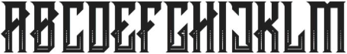 CRAWLER Decorative otf (400) Font LOWERCASE