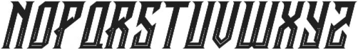 CRAWLER Italic Decorative otf (400) Font UPPERCASE