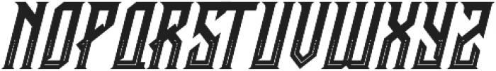 CRAWLER Italic Decorative otf (400) Font LOWERCASE