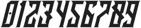 CRAWLER Italic otf (400) Font OTHER CHARS