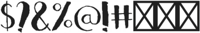 CRISPY otf (400) Font OTHER CHARS