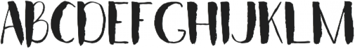CRISPY otf (400) Font UPPERCASE