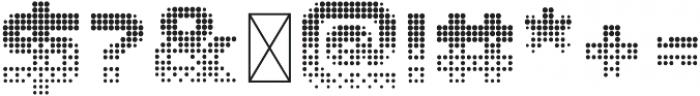 CRT-64 Regular otf (400) Font OTHER CHARS