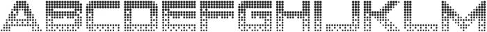 CRT-64 Regular otf (400) Font UPPERCASE