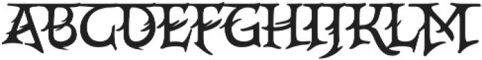 CrEAtOR CamPotype Regular otf (400) Font UPPERCASE