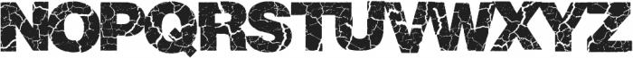 Crackvetica ttf (400) Font UPPERCASE