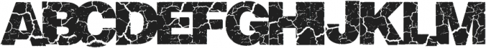 Crackvetica ttf (400) Font LOWERCASE