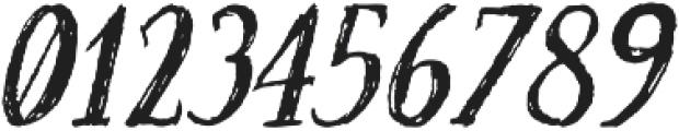 Craftsman Italic otf (400) Font OTHER CHARS