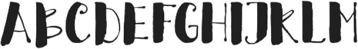 Crafty otf (400) Font UPPERCASE