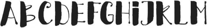 Crafty otf (400) Font LOWERCASE