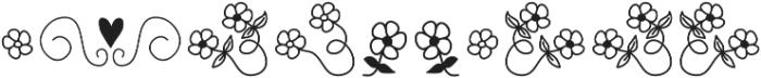 CraftyCat Ornaments otf (400) Font OTHER CHARS