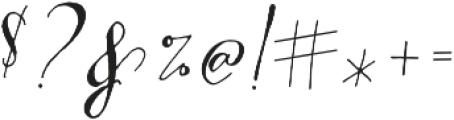 CraftyScriptAlt1 ttf (400) Font OTHER CHARS