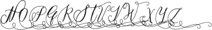 CraftyScriptAlt1 ttf (400) Font UPPERCASE