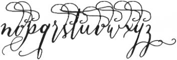 CraftyScriptAlt1 ttf (400) Font LOWERCASE
