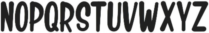 Crash Mounty Regular otf (400) Font UPPERCASE