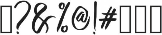 Crash One ttf (400) Font OTHER CHARS