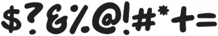 Crash Regular otf (400) Font OTHER CHARS