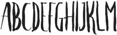 Crash Two ttf (400) Font UPPERCASE