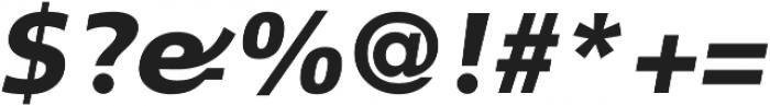 CraveSans Black Italic otf (900) Font OTHER CHARS