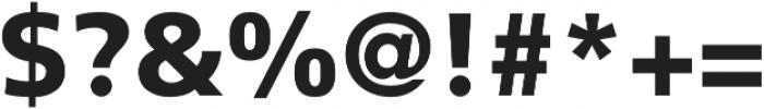 CraveSans Black otf (900) Font OTHER CHARS