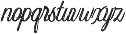 Crawley Crawley-Textured otf (400) Font LOWERCASE