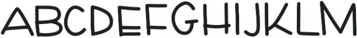 Crayon By Anayvy Regular otf (400) Font LOWERCASE