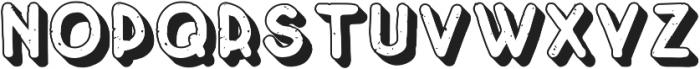 Crayonello 3d otf (400) Font UPPERCASE