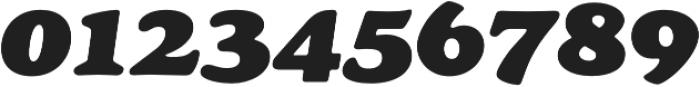 Cream Black Italic otf (900) Font OTHER CHARS