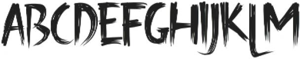 Creaphy otf (400) Font LOWERCASE