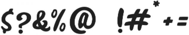 Creasi Script otf (400) Font OTHER CHARS