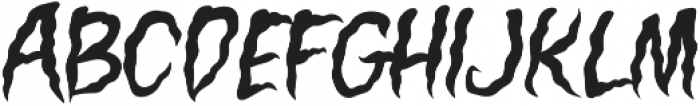 Creepers Solid otf (400) Font LOWERCASE