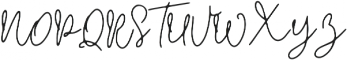 Crimson and Thunder otf (400) Font UPPERCASE