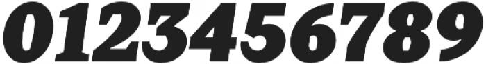 Crimsons Black Italic otf (900) Font OTHER CHARS