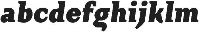 Crimsons Black Italic ttf (900) Font LOWERCASE