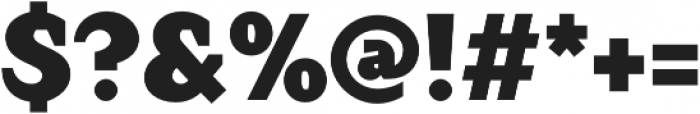 Crimsons Black otf (900) Font OTHER CHARS
