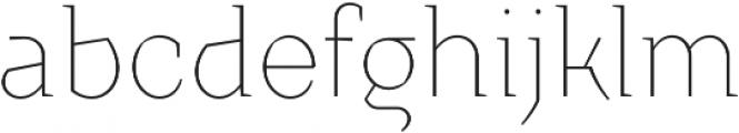 Crimsons Thin otf (100) Font LOWERCASE