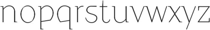 Crimsons Thin ttf (100) Font LOWERCASE